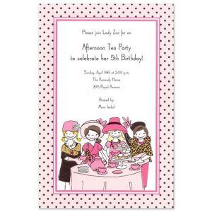 Little Tea Party Invitation