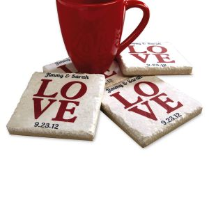 Love Customized Coasters
