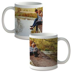 Panoramic Custom Ceramic Photo Mug