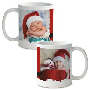 Santa Custom Ceramic Photo Mug