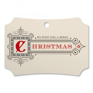 Merry Christmas Custom Deluxe Ornament