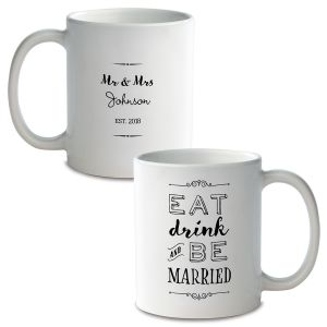 Be Married Custom Ceramic Mug