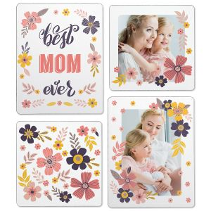 Floral Photo Magnets