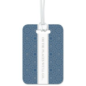 Custom Oh The Places We'll Go Luggage Tag