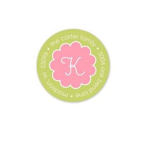 Pink Truffle Address Label