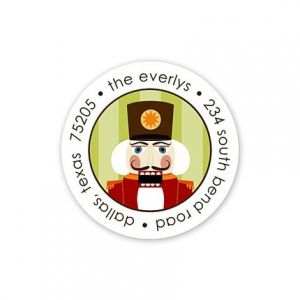 Mr. Nutcracker Sticker