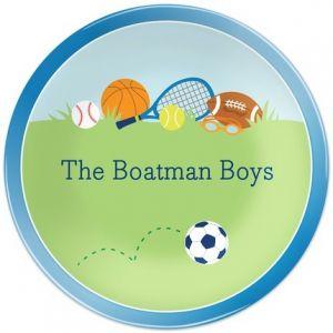 Sports Boy Dinner Plate