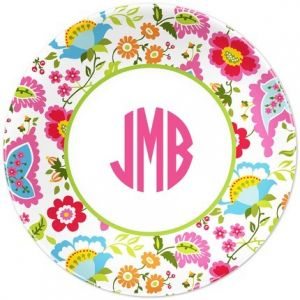 Floral Bright Dinner Plate