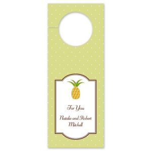 Pineapple Wine Tag