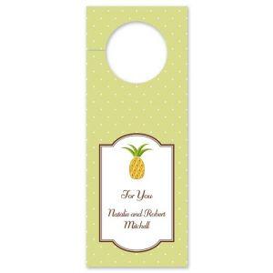 Pineapple Wine Tag