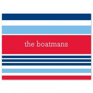 Nautical Note Card