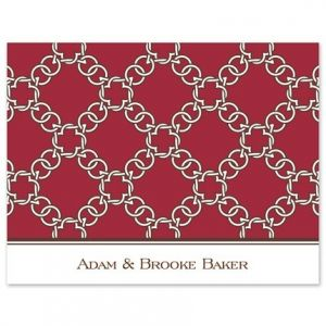 Red Links Note Card