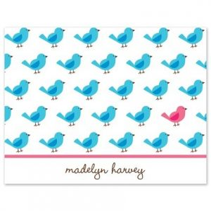 Bird Repeat Note Card
