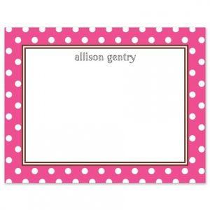 Pink Dot Flat Card