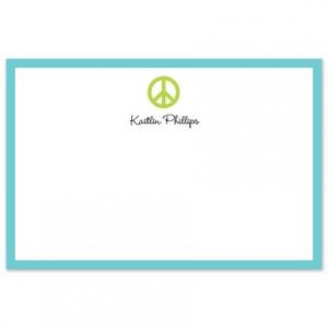 Peace Sign Flat Card