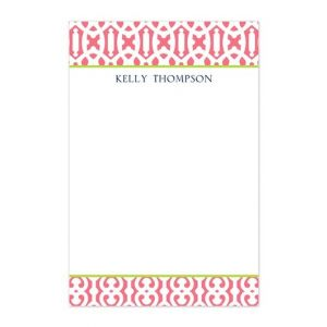 Cameron Raspberry Note Pad