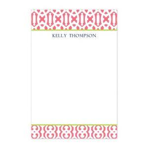 Cameron Raspberry Note Pad