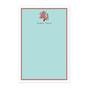 Coral Note Pads