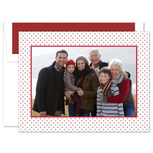 St. Gall Swiss White with Red Photo Card