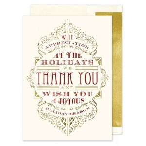 Appreciation Typography Greeting Card