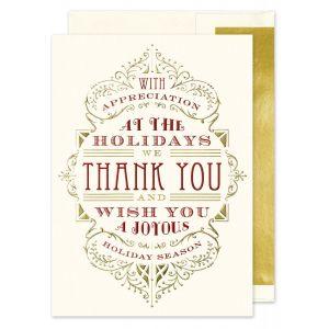 Appreciation Typography Greeting Card