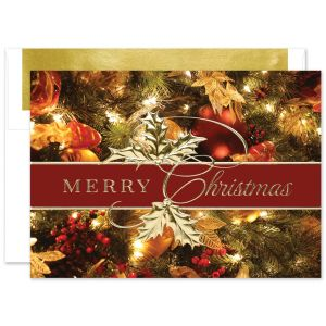 Stunning Christmas Greeting Card