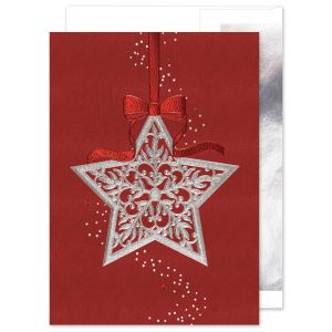 Star of Silver Greeting Card