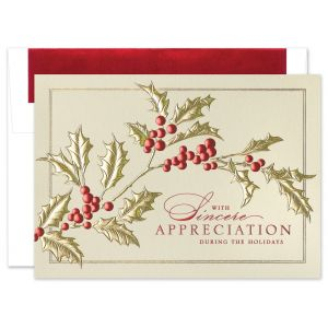 Holiday Tidings Greeting Card