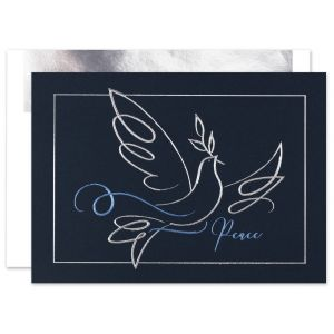 Dove of Tranquility Greeting Card