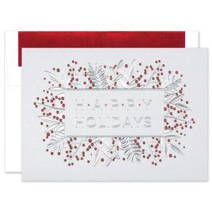 Cherry Berries Greeting Card