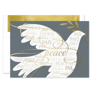 Harmony of Peace Greeting Card