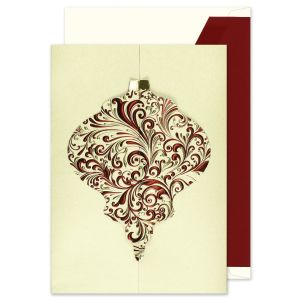 Ornate Ornament Greeting Card