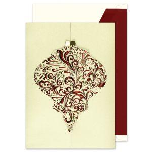 Ornate Ornament Greeting Card