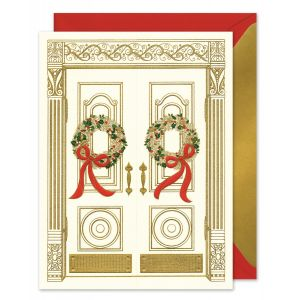 Holiday Entrance Greeting Card