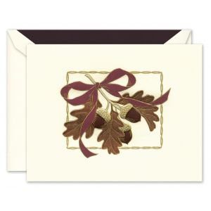 Festive Acorns Greeting Card