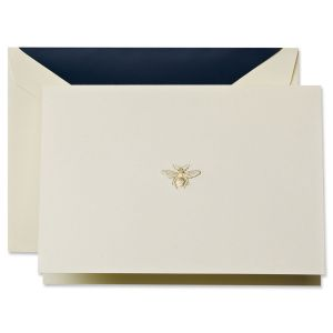 Engraved Bee Note Cards Boxed Set