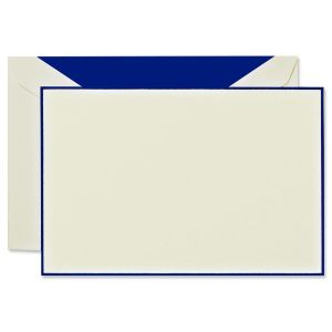 Regent Blue Bordered Correspondence Cards Boxed Set