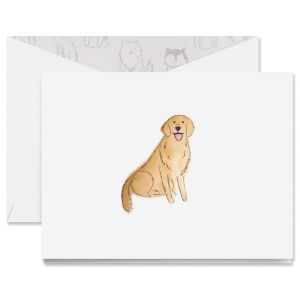 Golden Retriever Note Cards Boxed Set