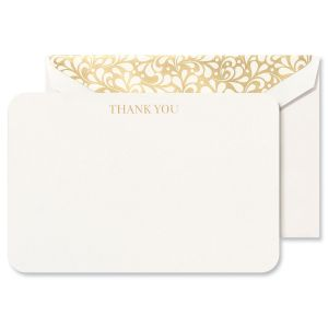 Rounded Corner Thank You Notes Boxed Set