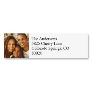 Classic Photo Custom Address Labels