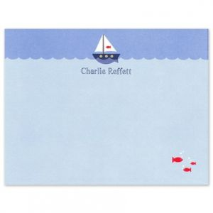 Sailboat Flat Card