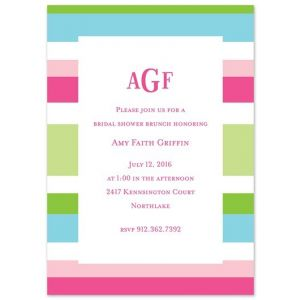 Preppy Espadrille Invitation