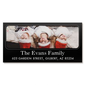 Modern Deluxe Photo Custom Address Labels