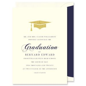 Graduation Cap Announcement