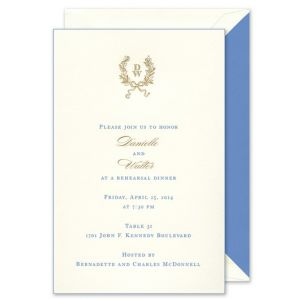 Painted Edge Invitation