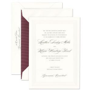 Blush Confetti Invitation