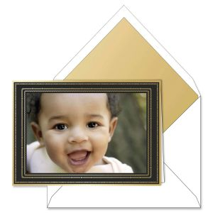 Noir Eternal Photo Mount Holiday Greeting Cards Boxed Set