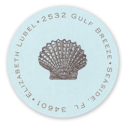 Seashell Label