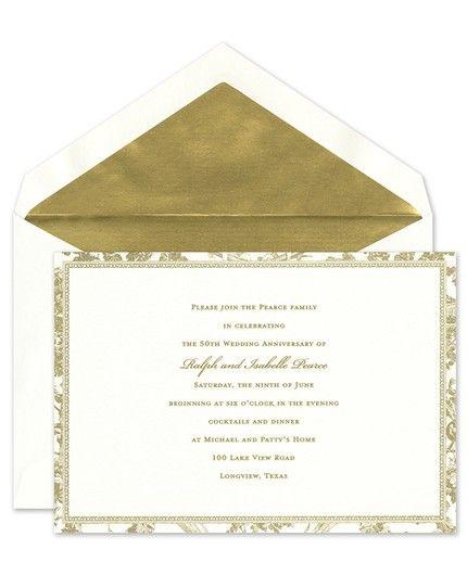Romantic Toile Invitation