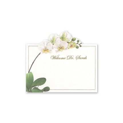 Orchid Place Card
